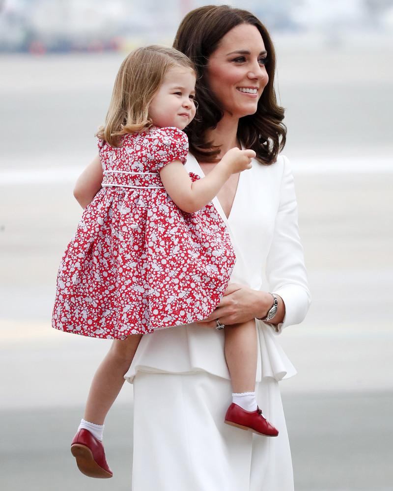 ESC: Kate Middleon, Princess Charlotte