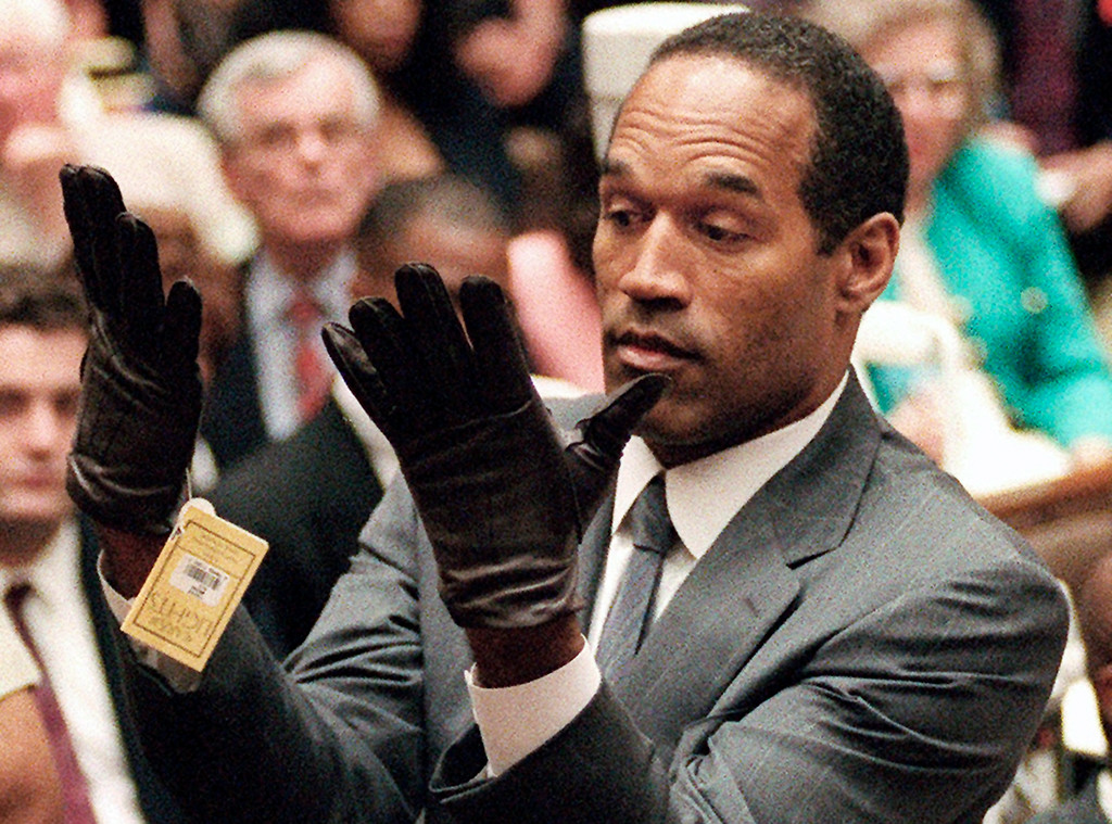 O.J. Simpson, Gloves, 1995