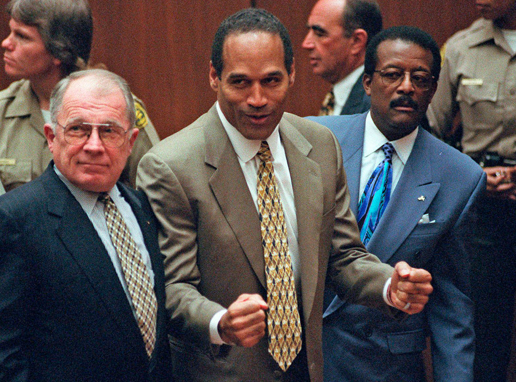 F. Lee Bailey, O.J. Simpson, Johnnie Cochran Jr. ,1995