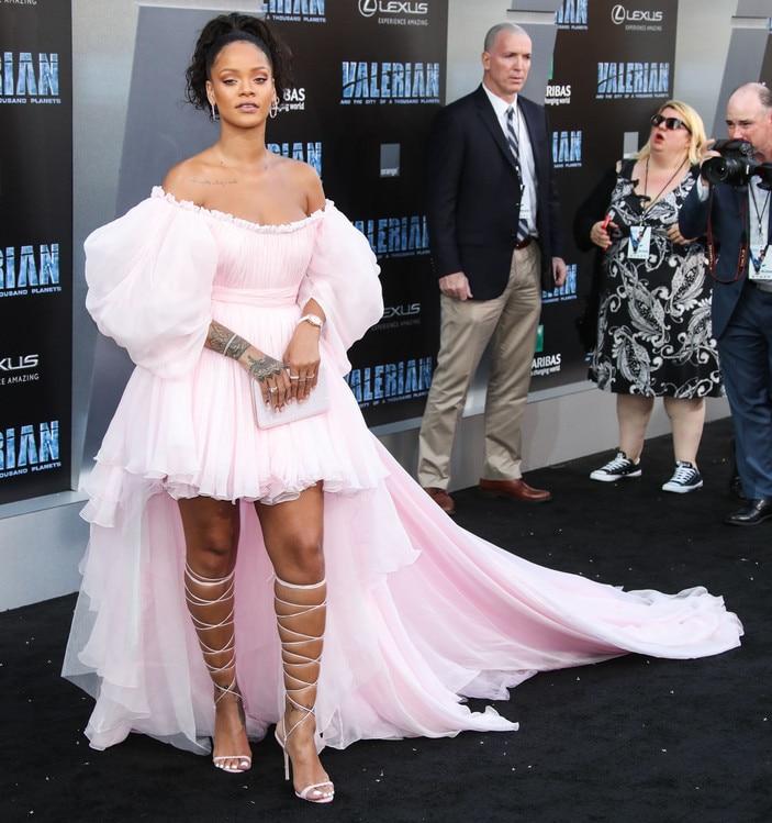 Rihanna Movie Premier