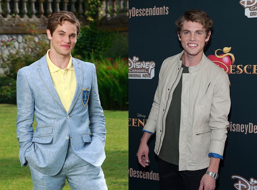 Descendants On and Off Screen, Jedidiah Goodacre