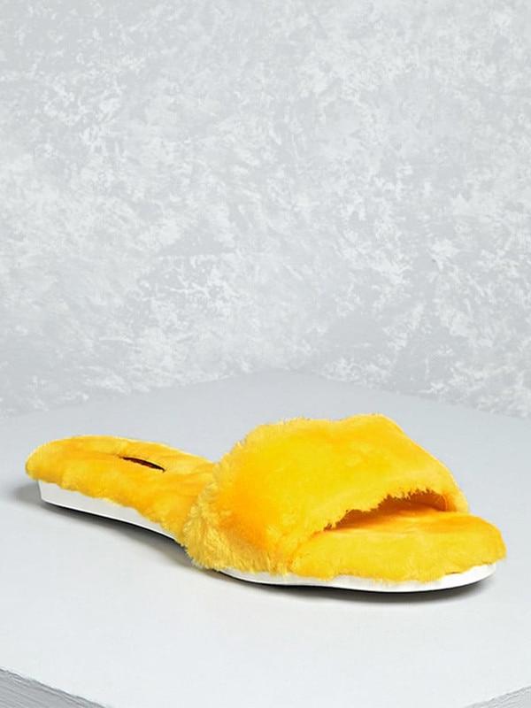 6187d16a47f8 Sam Edelman from Faux Fur Slides