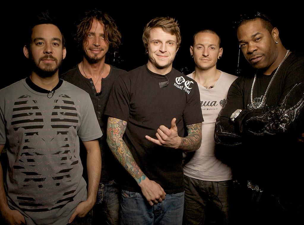 Mike Shinoda, Chris Cornell, Chester Bennington, Alex Varkatzas, Busta Rhymes, Linkin Park