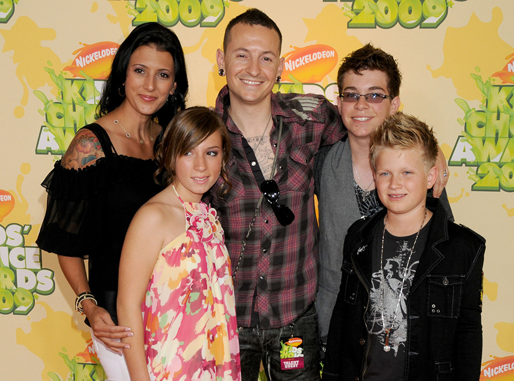 Chester Bennington, Talinda Bentley, Children