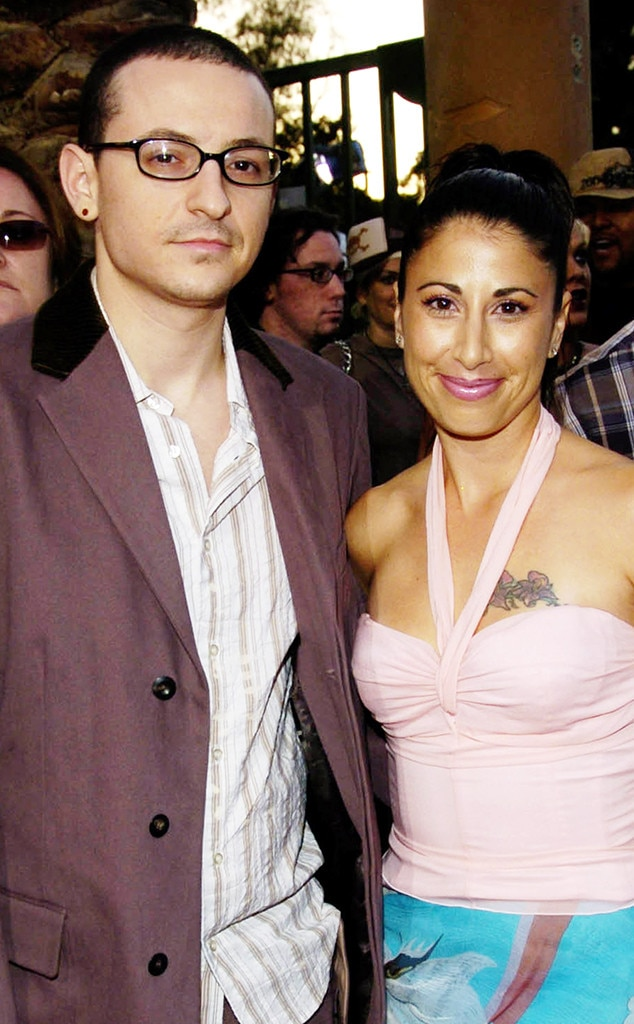 His First Love From Chester Bennington A Life In Pictures E News