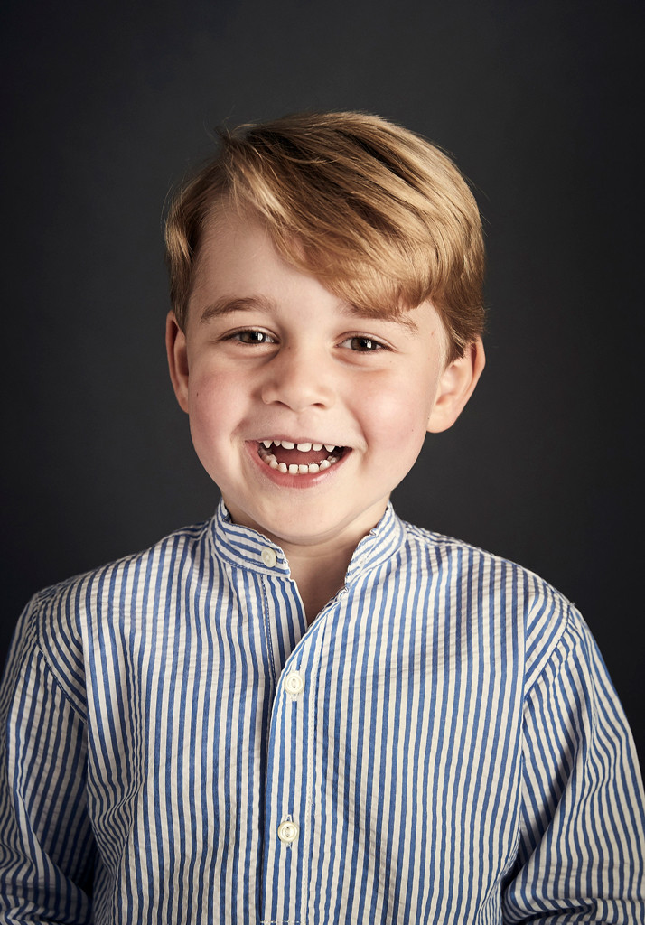 Prince George, Fourth Birthday Portrait