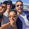 Ben Affleck, Gal Gadot, Ezra Miller, Ray Fisher, Justice League, Selfie