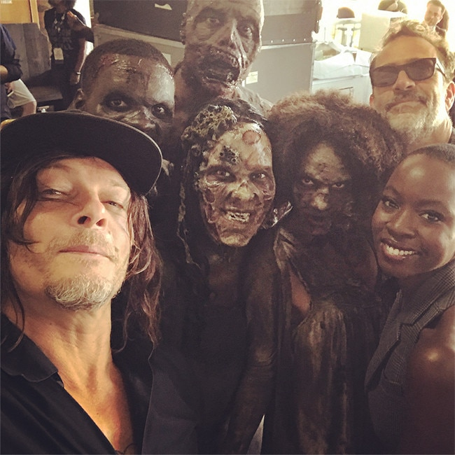 Walking Dead, Comic-Con 2017, Instagram