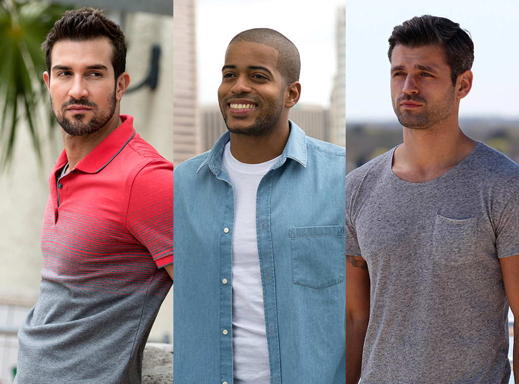 Bryan, Eric, Peter, The Bachelorette