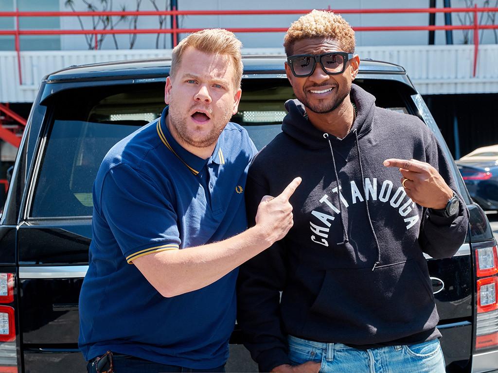 Usher S Carpool Karaoke Watch Him Give James Corden Dance Lessons