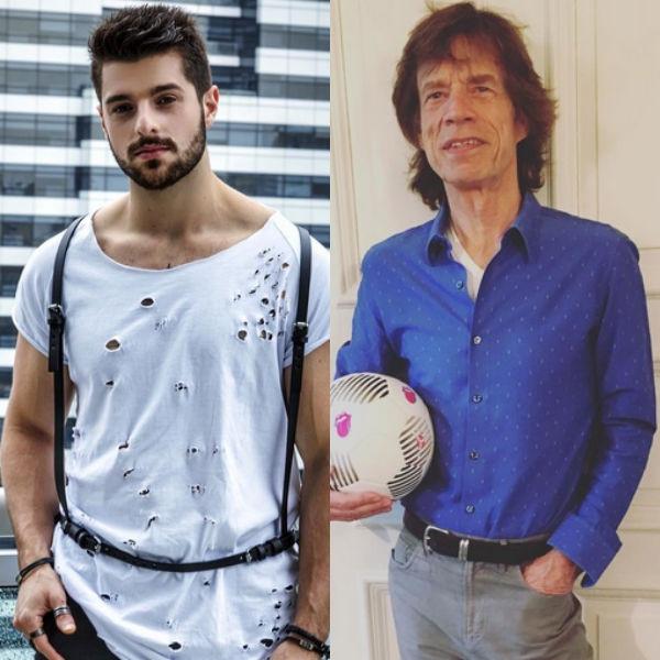 DJ Alok, Mick Jagger, Instagram