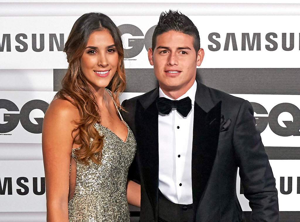 James Rodriguez, Daniela Ospina