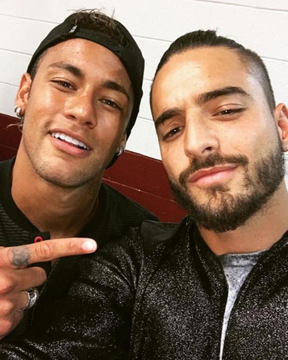 Neymar, Maluma