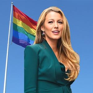 Blake Lively, LGBT Flag