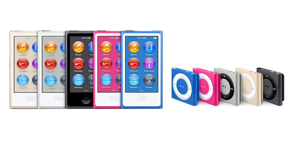 Apple, Nano, Shuffle