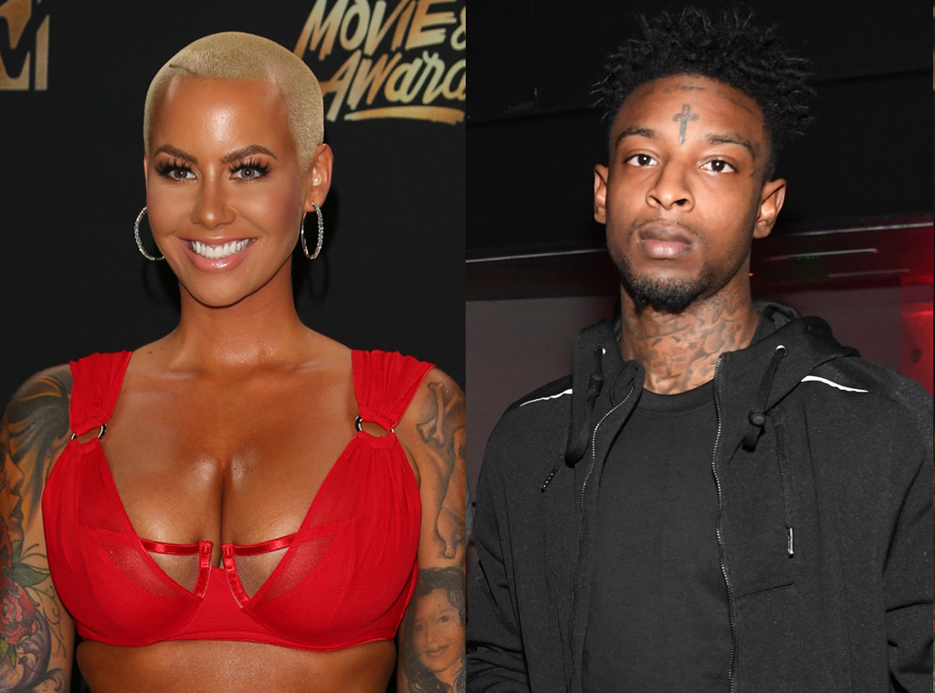 Amber Rose and Rapper 21 Savage Make Their Relationship