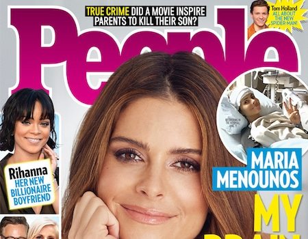 Maria Menounos Diagnosed With a Brain Tumor as Her Mom Is ...