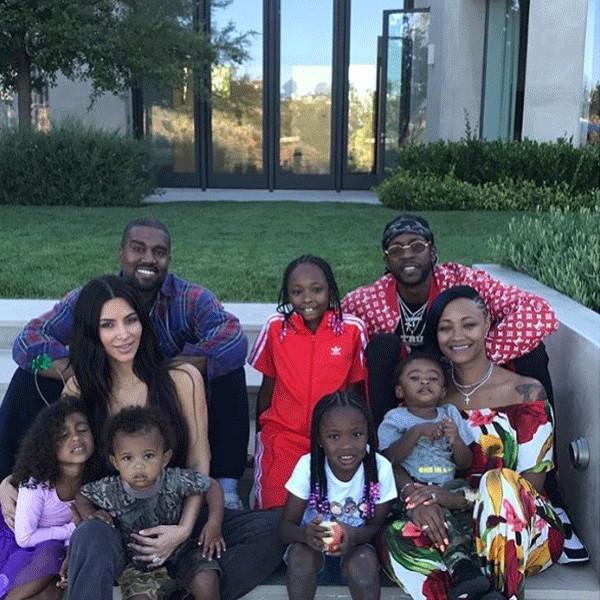 Kanye West, Kim Kardashian, 2 Chainz