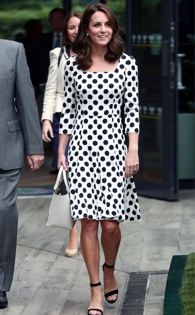 Catherine, Duchess of Cambridge, Kate Middleton, 2017 Wimbledon