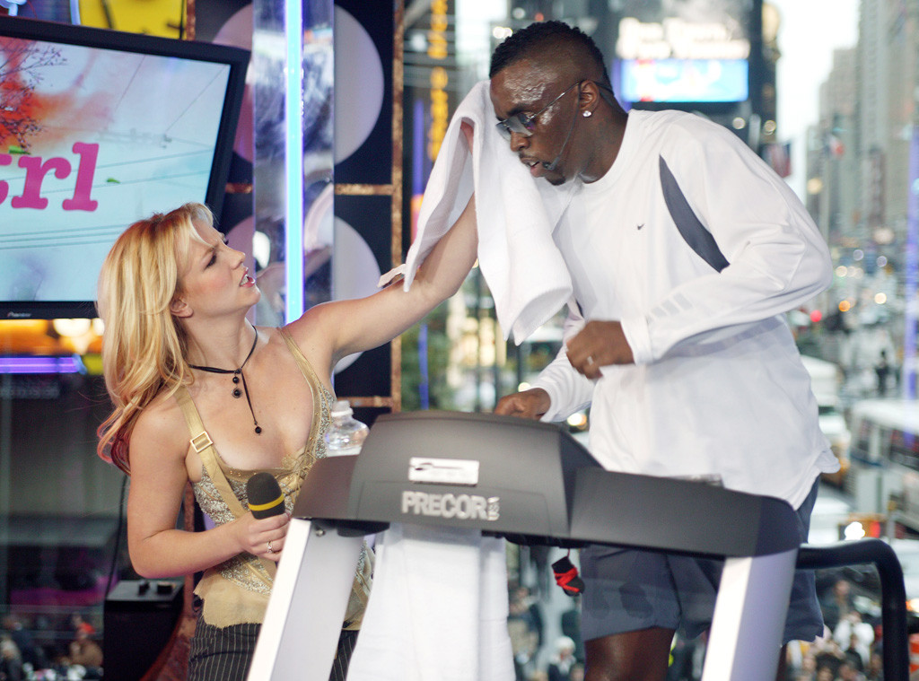 Britney Spears, P. Diddy, Sean Combs, TRL