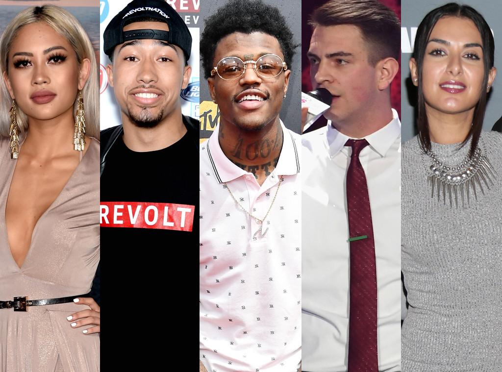 MTV TRL Hosts, Amy Pham, D.C. Young Fly, Lawrence Jackson, Erik Zachary, Tamara Dhia