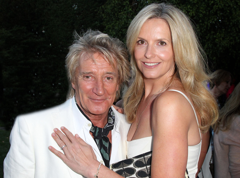 Rod Stewart and Penny Lancaster Renew Vows and Donate Wedding Money ...
