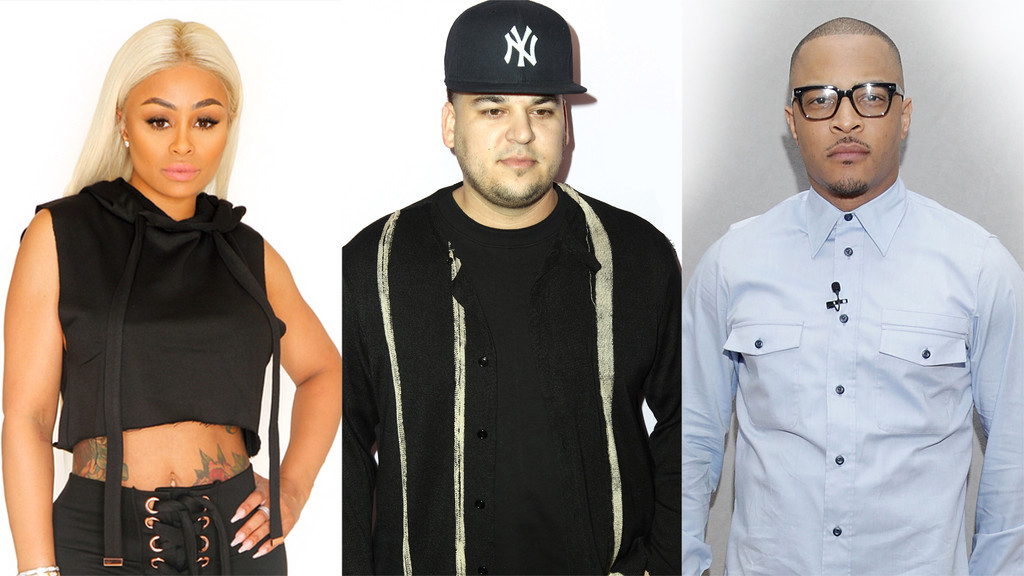 Blac Chyna, Rob Kardashian, T.I.