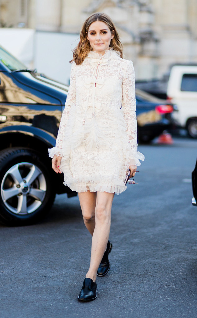 ESC: Olivia Palermo, Paris Fashion Week