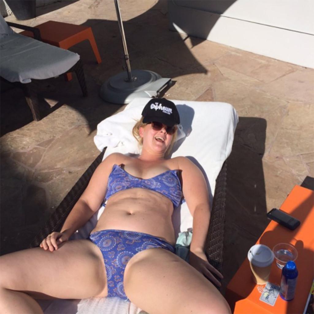 Amy Schumer Celebrates National Bikini Day Like Only She