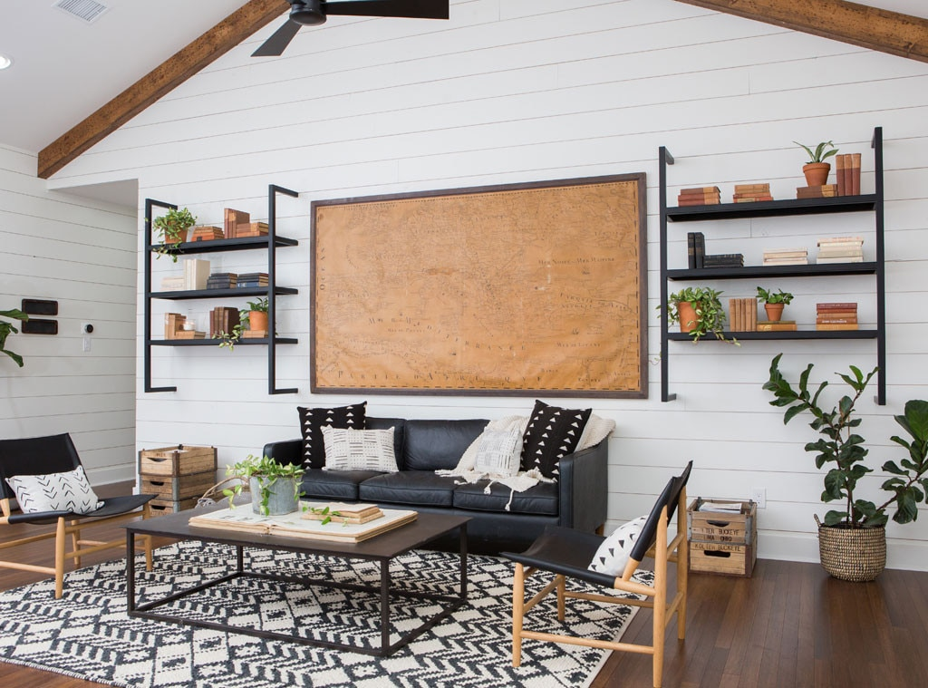 the shack after from the most dramatic fixer upper transformations of all time e news. Black Bedroom Furniture Sets. Home Design Ideas