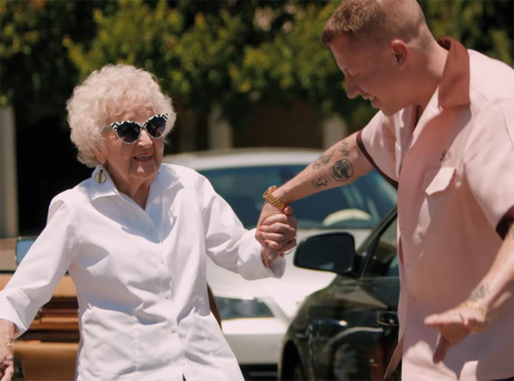 Macklemore Surprises His Grandma On Her 100th Birthday In