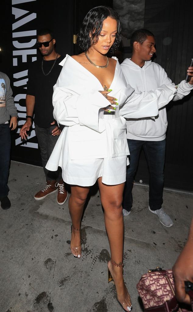 Rihanna, White Outfits