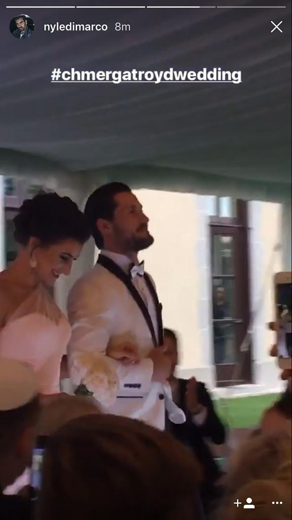 Maksim Chmerkovskiy, Peta Murgatroyd, Wedding