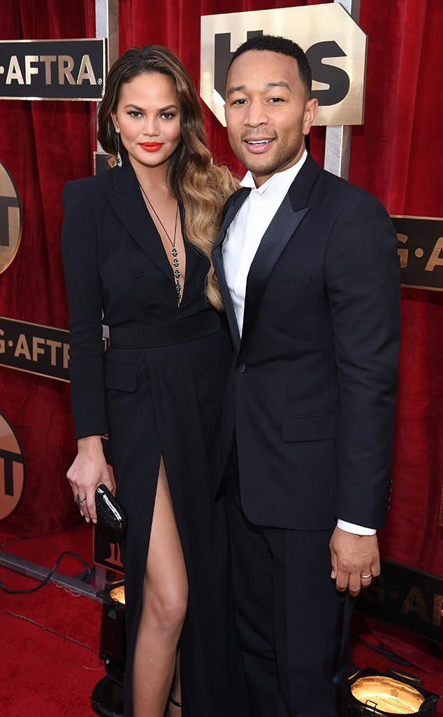 Chrissy Teigen, John Legend, Screen Actors Guild