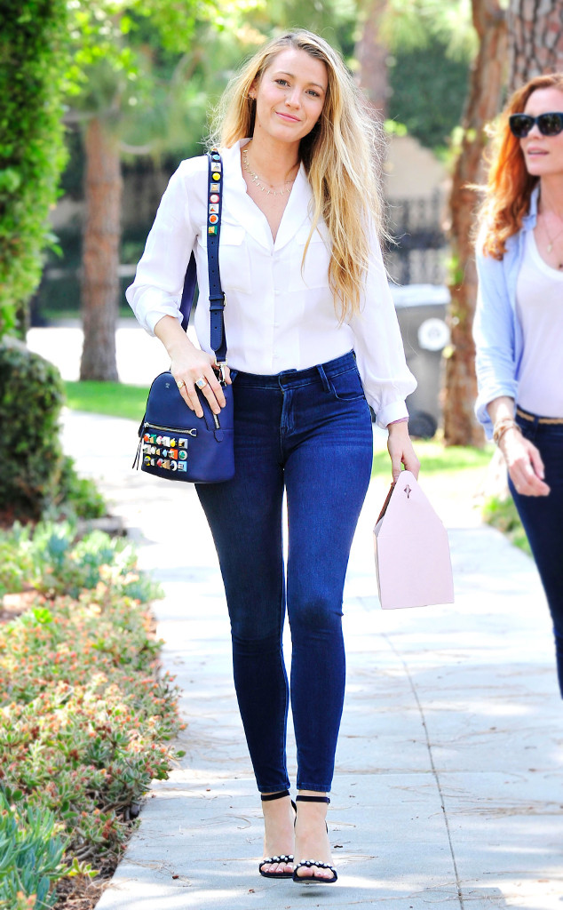 Blake Lively S 40 Jeans Are From Where E News