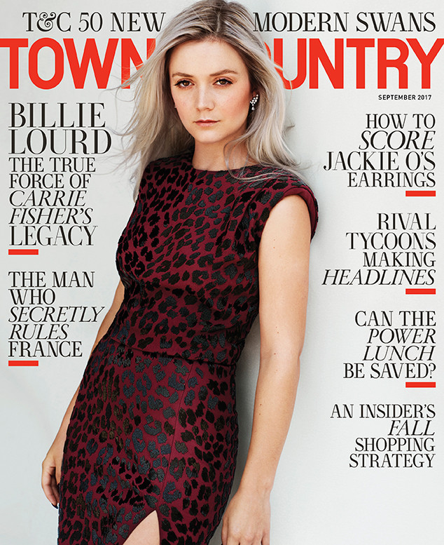 Billie Lourd, Town and Country
