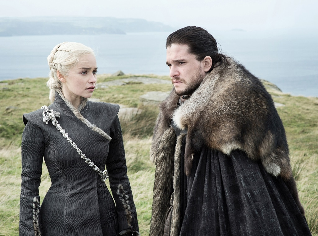 Jon and Daenerys,  Game of Thrones  - Game of Thrones  loves its incest! Not only have twins Cersei and Jaime been hooking up for years, but now we've got aunt Daenerys and nephew Jon Snow having sex on boats without knowing they're so closely related.