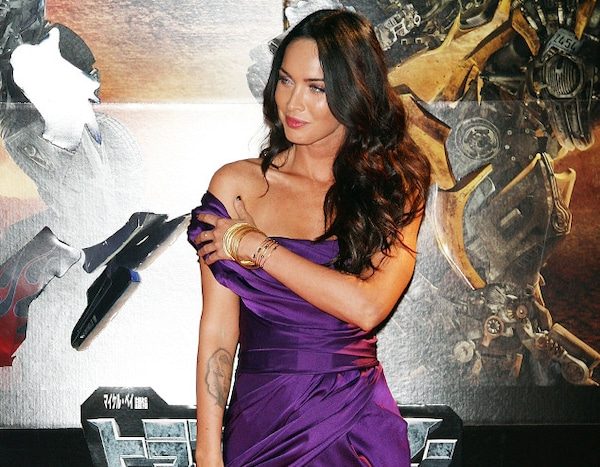 Megan Fox From Celebrities Who Removed Their Tattoos E News