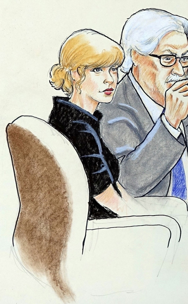 Taylor Swift, Courtroom Sketch