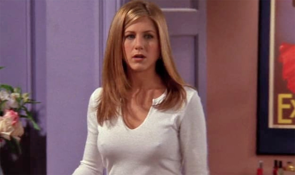 Jennifer Aniston, Friends, Nipples