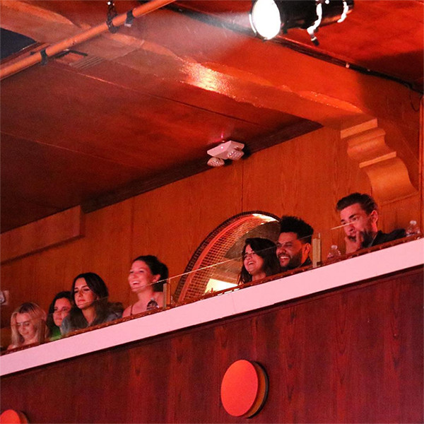 Selena Gomez, The Weeknd, Laugh Factory Date
