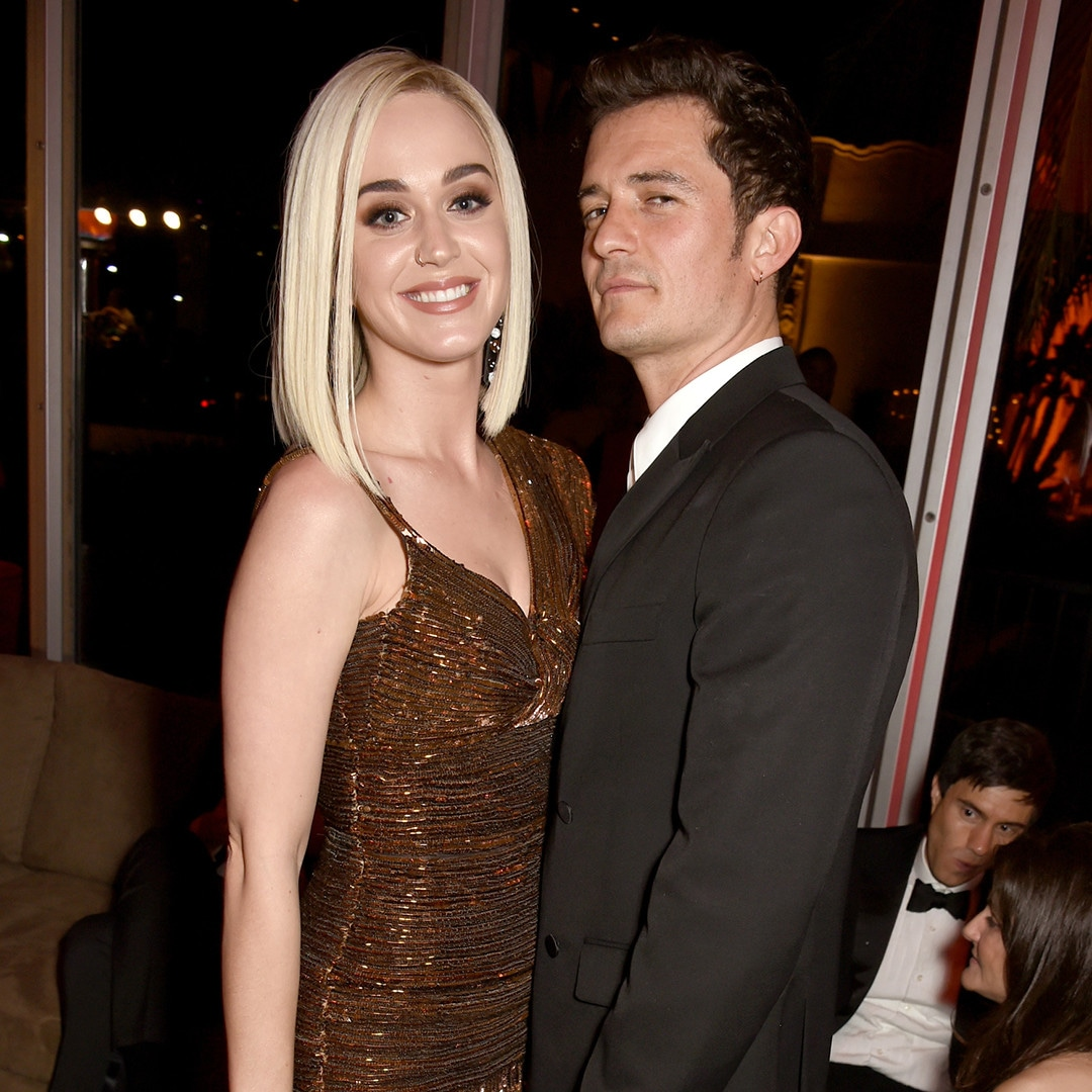 Katy Perry, Orlando Bloom, 2017 Oscars Party Pics, Vanity Fair, Instagram