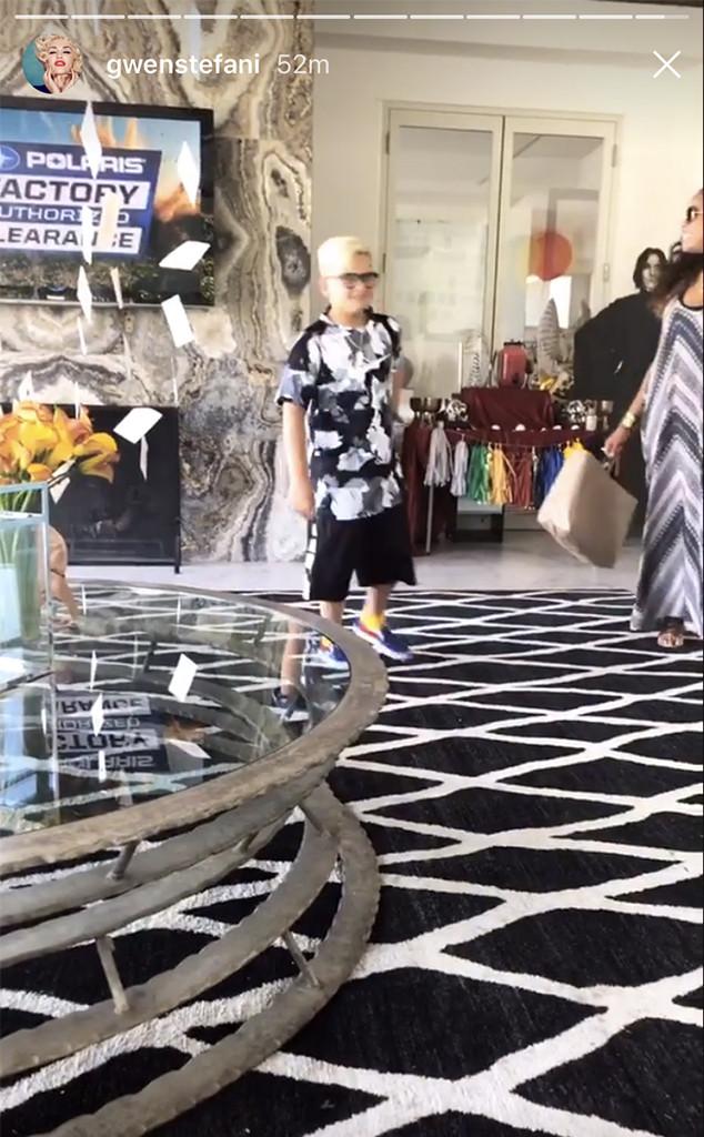 Gwen Stefani, Zuma, Birthday Party, Harry Potter