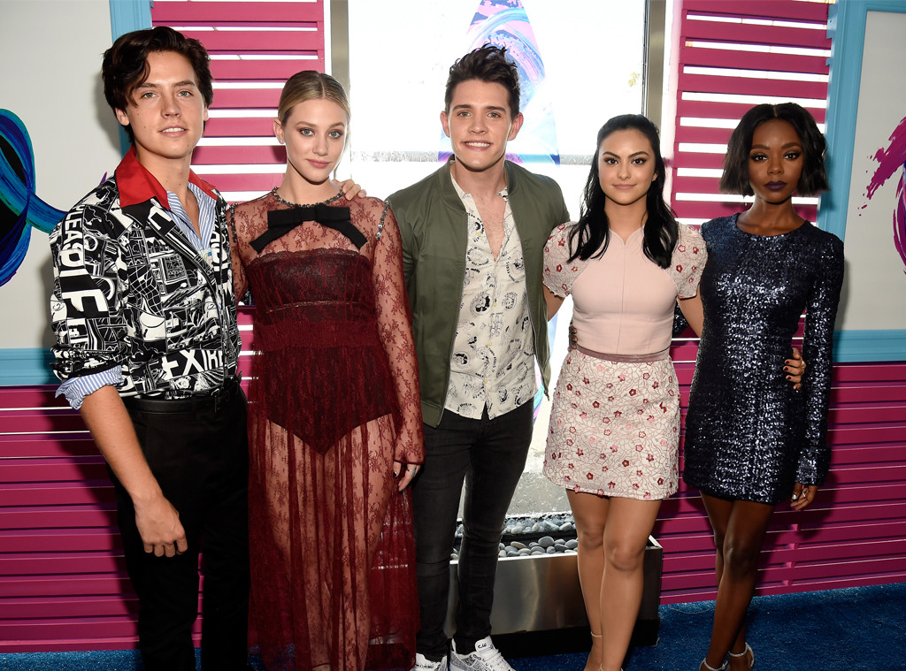 Cole Sprouse, Lili Reinhart, Casey Cott, Camila Mendes, Ashleigh Murray, Teen Choice Awards 2017