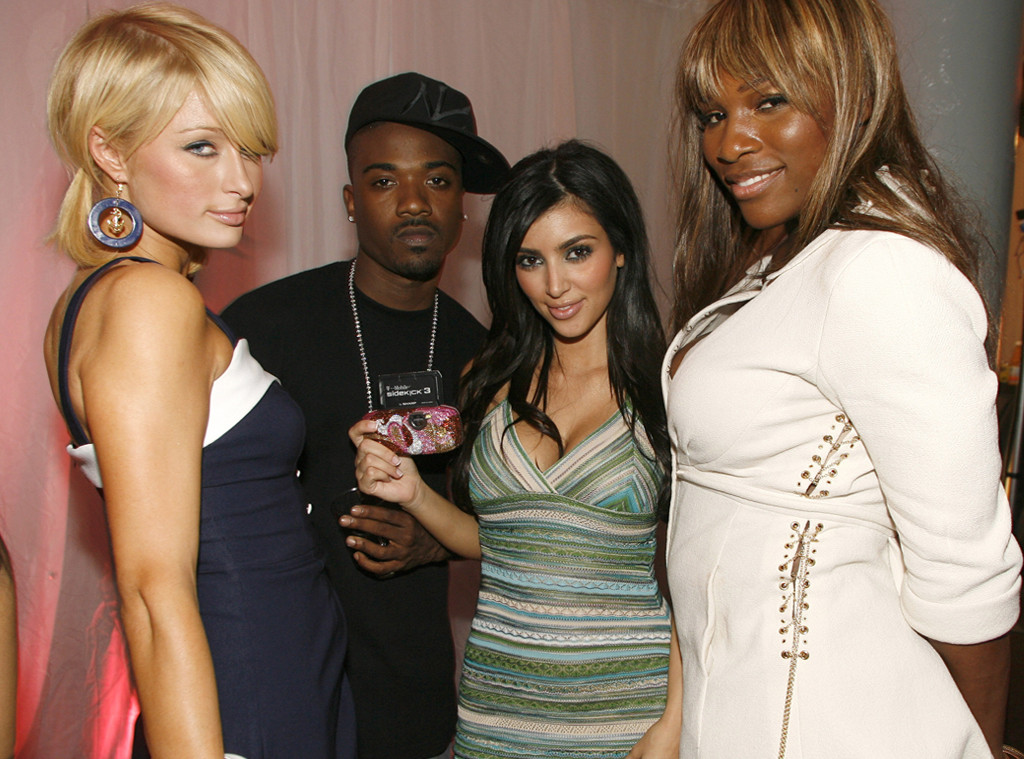 Paris Hilton, Ray J, Kim Kardashian, Serena Williams