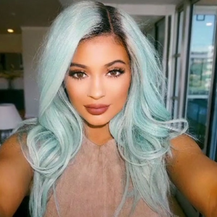 Gasp Kylie Jenner Says Shes Over Wearing Crazy Hair Colors And