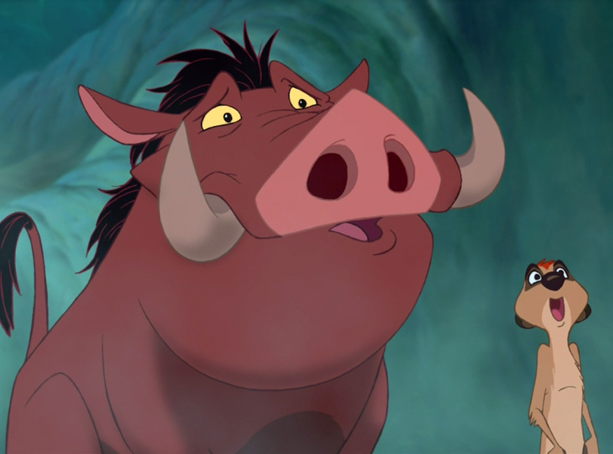 Timon, Pumbaa, The Lion King