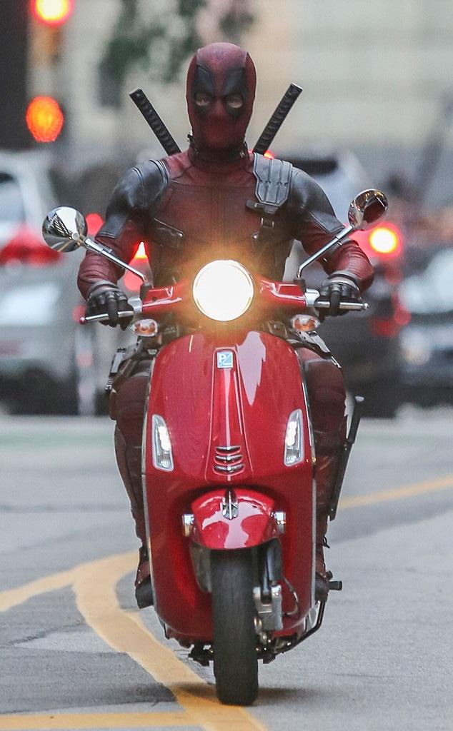 Ryan Reynolds, Deadpool 2 Set