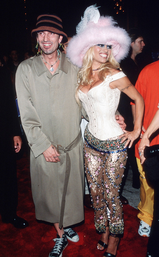 Pamela Anderson, Tommy Lee, VMA Couples