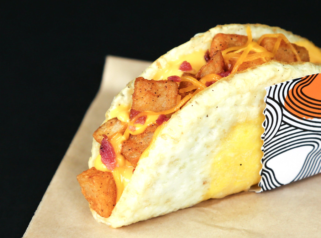 Taco Bells Craziest Items, Naked Egg Taco